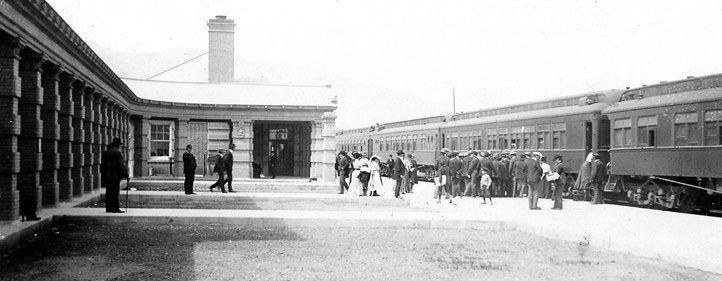 Livingston Montan's Old Railroad Depot