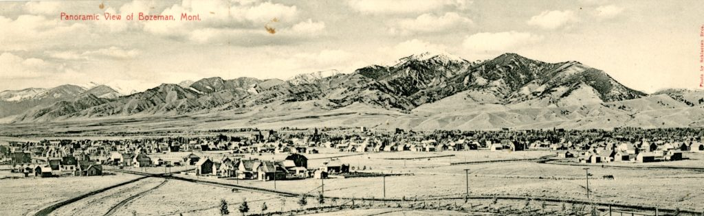Bozeman Montana 1890s Photo